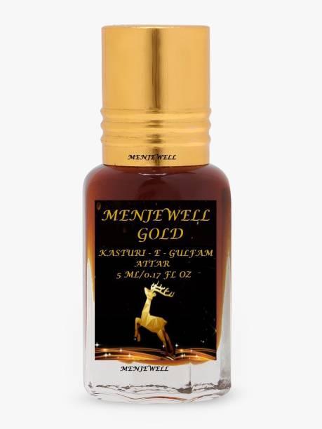 Menjewell Fragrances Kasturi-E-Gulfam Long Lasting (Natural Itar/Attar/Perfume) 5ML Floral Attar