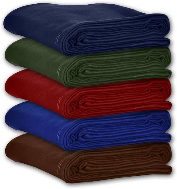 Flipkart SmartBuy Solid Single Fleece Blanket