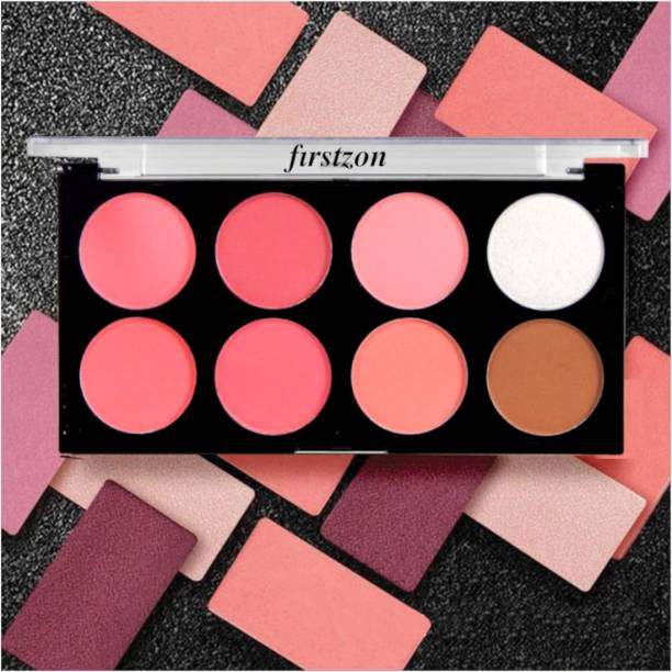 FIRSTZON Blush & Contour & highlight powder combo palette