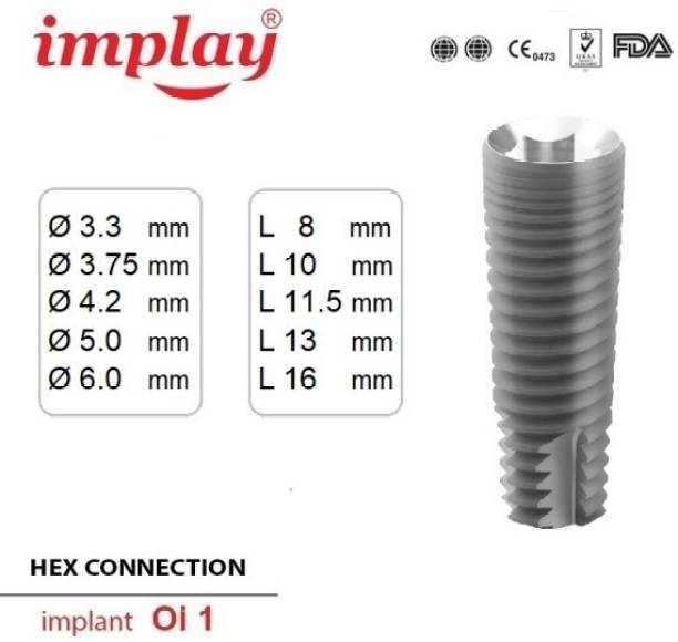 Implay 5.0×11.5mm Dental Implant