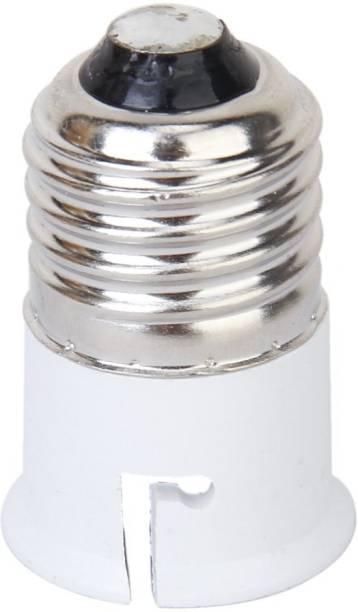 BOOSTY E27 to B22 Plastic Screw Base Socket Lamp Holder Light Bulb Converter Adapter Plastic Light Socket