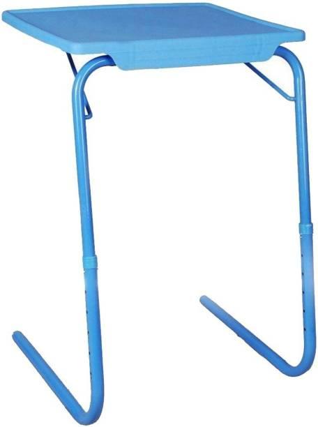 Frazzer Blue Adjustable Plastic Portable Laptop Table