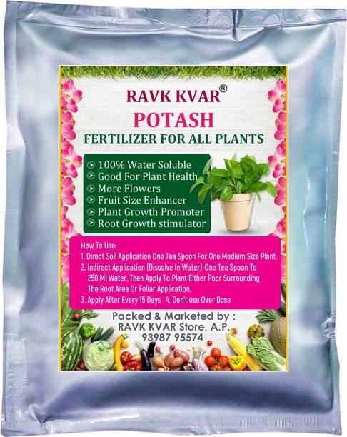 RAVK KVAR Water Soluble Potash npk Plant Fertilizer Good for Plant Health, Plant Growth, More Flowers and Fruits Fertilizer