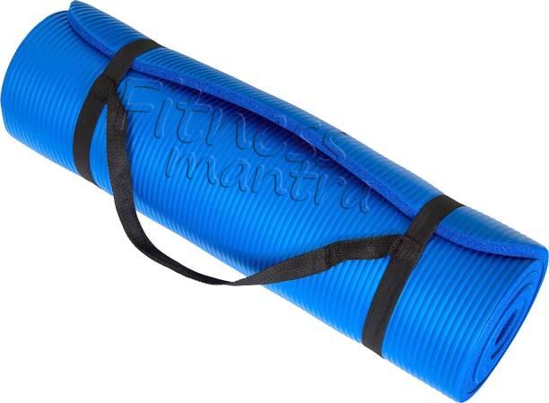 Fitness Mantra Yoga Mat with Shoulder Strap 6 mm Yoga Mat