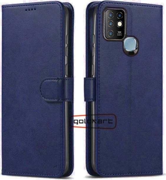 GoldKart Back Cover for Infinix Hot 10