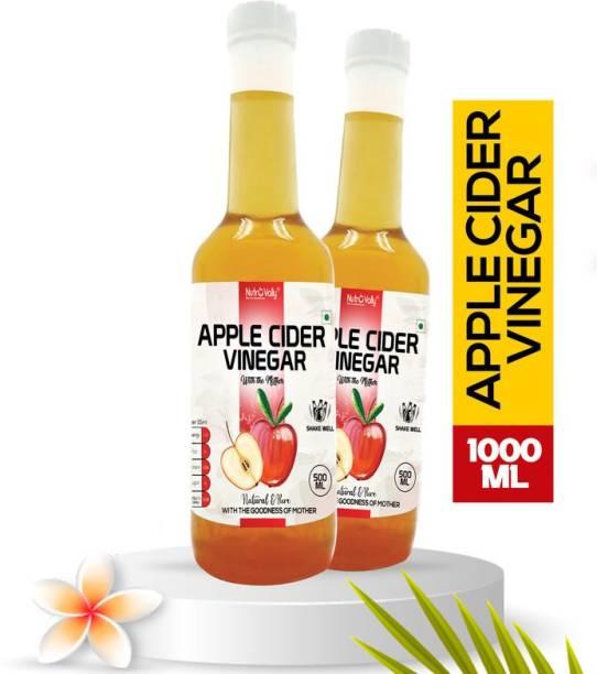 NutroVally apple cider vinegar for weight loss with Mother of vinegar Vinegar