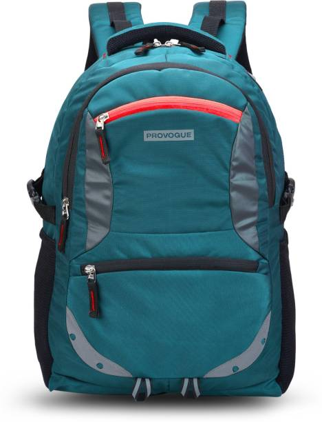 PROVOGUE Spacy unisex backpack with rain cover and reflective strip 35 L Backpack