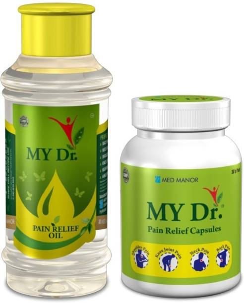 MY Dr. Pain Relief Oil 125 ml with Pain Relief Capsules Liquid
