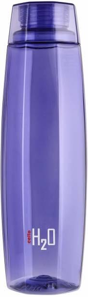 cello H2O Octa 1 Litre Water Bottle,Violet 1000 ml Bottle