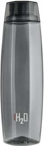 cello H2O Octa 1 Litre Water Bottle,Grey 1000 ml Bottle