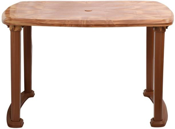 cello Plastic 4 Seater Dining Table