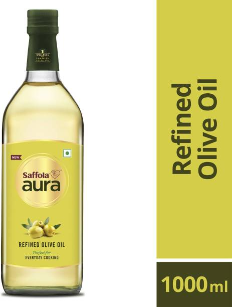 Saffola Aura Refined Olive Oil Plastic Bottle