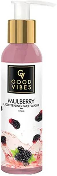 GOOD VIBES Lightening  - Mulberry Face Wash