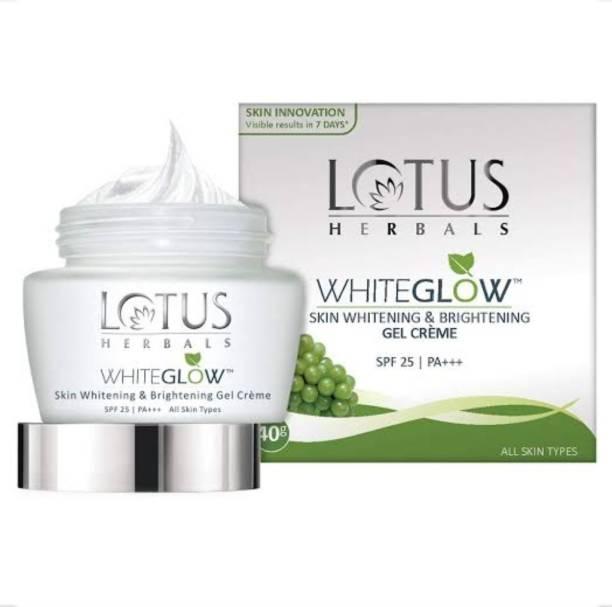 LOTUS HERBALS WhiteGlow skin whitening Brightening Gel Creame SPF-25|PA++