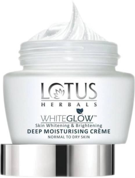LOTUS HERBALS White Glow Skin Whitening & Brightening Deep Moisturising Creme SPF 20| PA+++