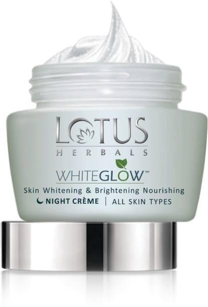 LOTUS HERBALS Whiteglow Skin Whitening & Brightening Nourishing Night Creme (60 g)