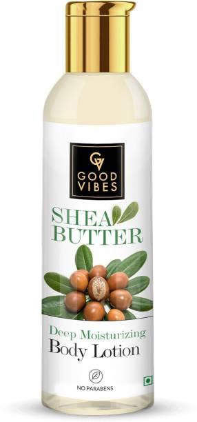 GOOD VIBES Deep Moisturizing Body Lotion - Shea Butter