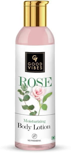 GOOD VIBES Moisturizing Body Lotion - Rose