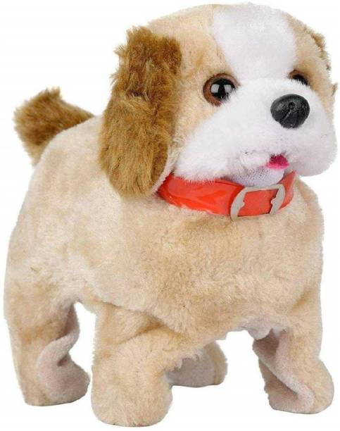 Kidzy musical cute jumping PUPPY & flipping DOG & barking DOGGY & walking toy under FLIP & BARK & WALK & JUMP action for children & baby boy & girl & kids ENTERTAINMENT