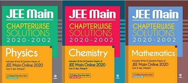 17 Years' Chapterwise Solutions Chemistry, Physics & Mathematics JEE Main 2020-2021