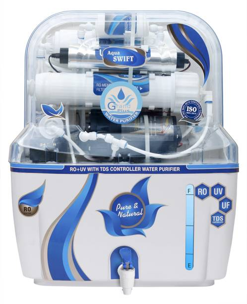 Grand plus GP Blue Swift 10 L RO + UV + UF + TDS Water Purifier