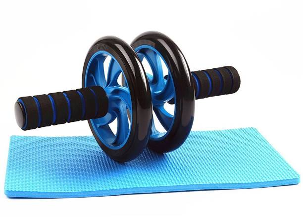 Strauss Wheel Roller (with Knee Pad) Ab Exerciser