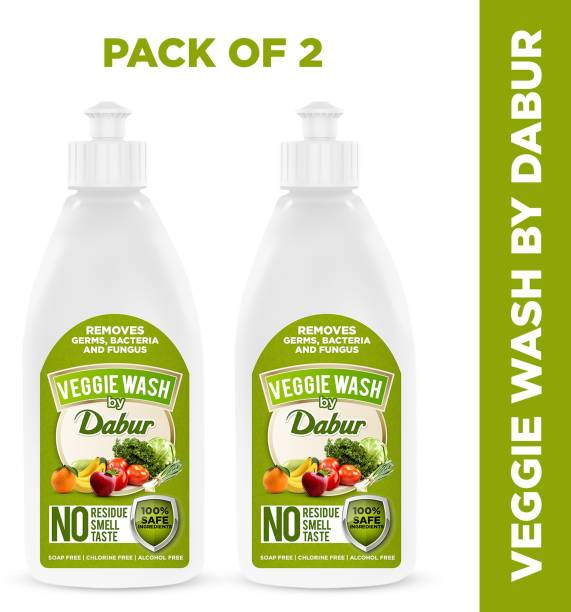 Dabur Veggie wash - fruits & Vegetable Cleaning liquid - Removes Germs , Bacteria and Fungus