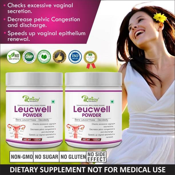 Riffway Leucorrhoea herbal Powder For care of women 100% Ayurvedic