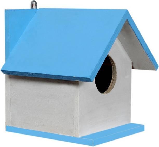 Paxidaya WOODEN BIRD HOUSE 01 PICEC Bird House