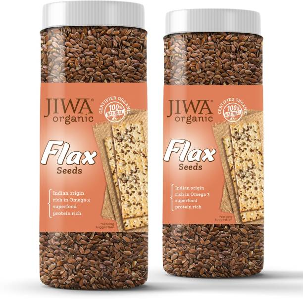JIWA healthy by nature Organic Flax Seeds (Raw)