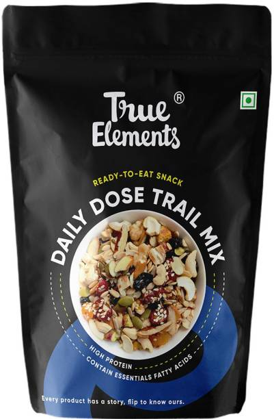 True Elements Daily Dose Trail Mix Seeds, High Protein, Ready to Eat Snack