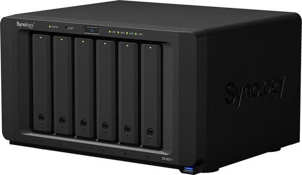 Synology DiskStation DS1621+ 0 TB External Hard Disk Drive