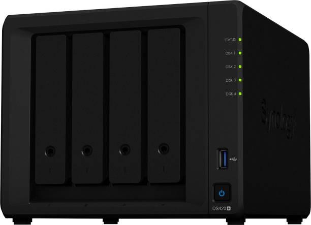 Synology DiskStation DS420+ 0 TB External Hard Disk Drive