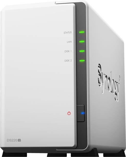 Synology DiskStation DS220j 0 TB External Hard Disk Drive