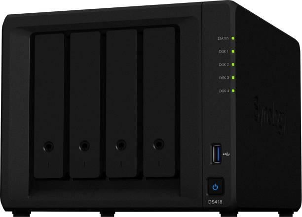 Synology DiskStation DS418 0 TB External Hard Disk Drive