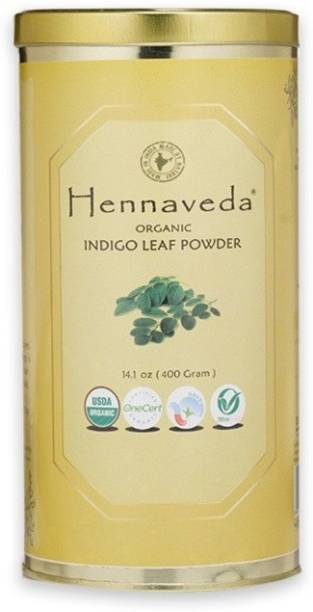 Hennaveda Organic Indigo Leaf Powder