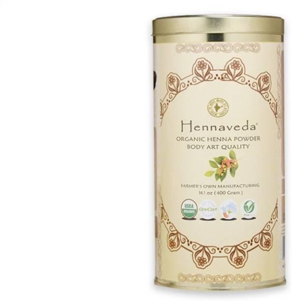 Hennaveda Organic Body Art Quality Henna Powder