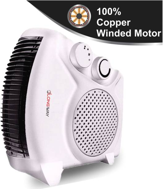 LONGWAY HOT MAX (WHITE) SILENT HOT MAX Fan Room Heater