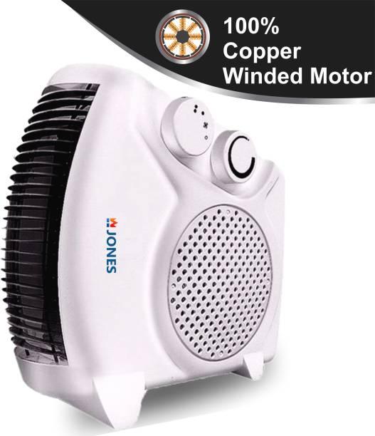 Jones HEAT FLOW (WHITE) SILENT Fan Room Heater