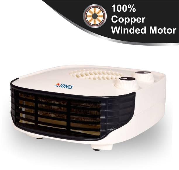 Jones BLOW HOT (IVORY) SILENT Fan Room Heater