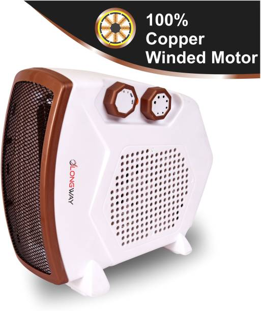 Longway HEAT MASTER (BROWN) SILENT HEAT MASTER (BROWN) Fan Room Heater