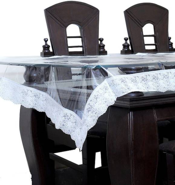 KUBER INDUSTRIES Solid 6 Seater Table Cover
