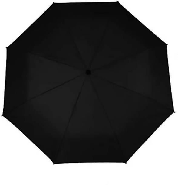 S S Enterprises premium two fold black umbrella Umbrella