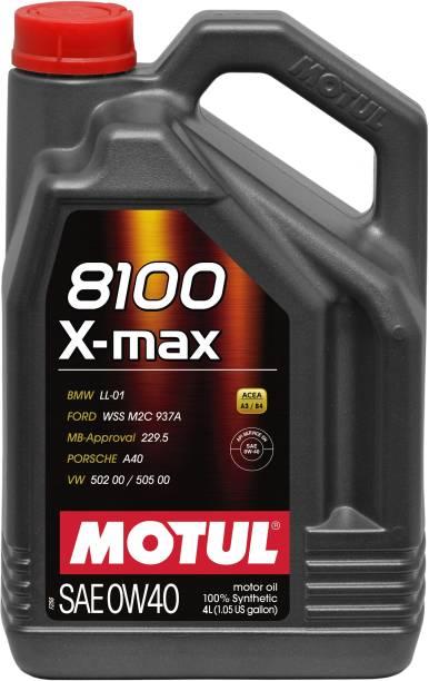 MOTUL 8100 X-max Full-Synthetic Engine Oil