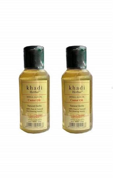 Khadi Herbal KH CASTOR OIL - 220 Hair Oil
