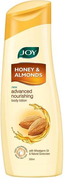 Joy Honey & Almonds Advanced Nourishing Body Lotion, For Normal to Dry skin