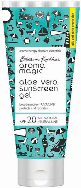 Aroma Magic Aloe Vera Sunscreen Gel 100 ml - SPF 20 PA+