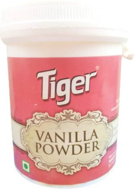 Tiger Vanila Powder- 100 G - (Bun,Rusk,Cake,Bread,Muffins,Tarts,Tea etc.,) Self Rising Flour Powder