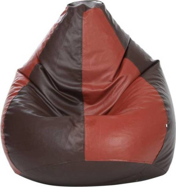 CaddyFull Jumbo Tear Drop Bean Bag Cover  (Without Beans)