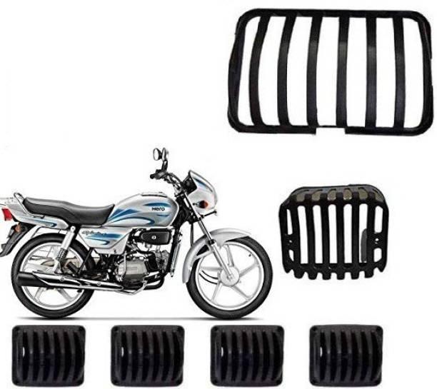Cotrex Splendor Complet Pvc Set Of 6 Grills Bike Headlight Grill